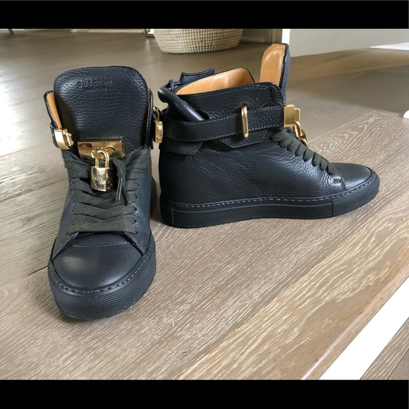 Buscemi 0mm Alta Sneakers In Charcoal